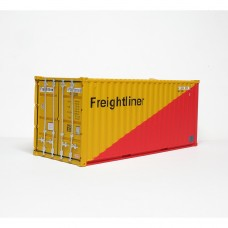 Freightliner 20ft Red & Yellow