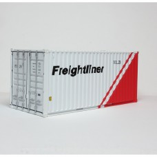 Freightliner 20ft Red and white