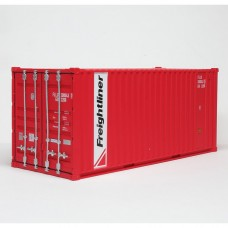 Freightliner 20ft Red container