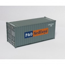 P&O Nedlloyd 20ft Drybox