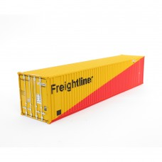 Freightliner 40ft Red and Yellow container