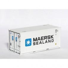 HO Maersk Sealand 20ft reefer