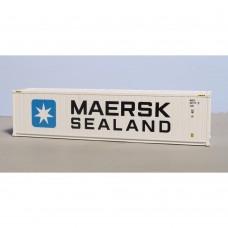 N Gauge reefer 40ft Maersk sealand