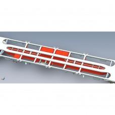 1 X FTA Inner Freightliner intermodal wagon.