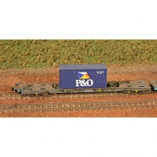N Gauge 20ft Container Kit x 10 - No18