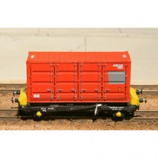 N Gauge MOD 20ft Container kit x 3 - No33