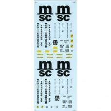 MSC O Gauge