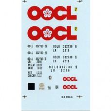 OOCL O Gauge