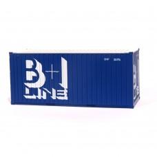 "B+I 20ft x 8'6"" Dry box"