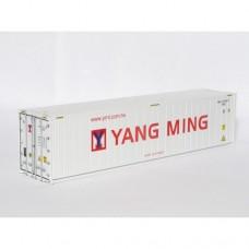 OO Gauge Yang Ming 40ft Reefer - RTR N010