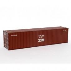OO Gauge ZIM 40ft High Cube - RTR No06
