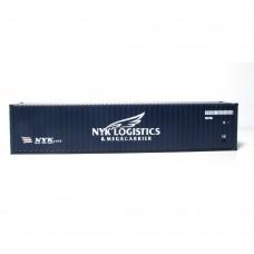 "OO Gauge NYK logistics 40' x 8'6"" dry box"