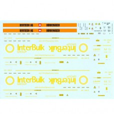 OO Gauge Transfer for 30ft Bulktainer - No07