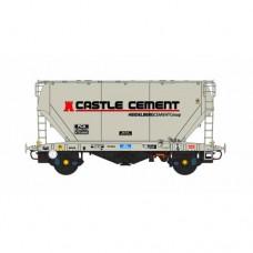 PCA Bulk Cement Wagon 3 X Castle Cement Livery - PRE-ORDER